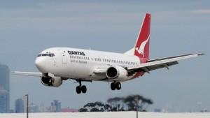 Sydney Airport Qantas Flight